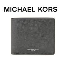 ☆Michael Kors☆ HARRISON Billfold 折り財布 GREY♪