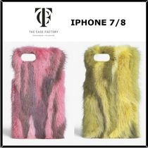 THE CASE FACTORY(ザ ケース ファクトリー) スマホケース・テックアクセサリー ★THE CASE FACTORY★IPHONE 7/8ミンクファーケース♪関税込