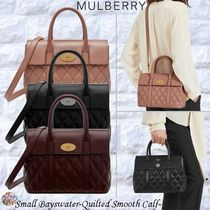Mulberry☆Small Bayswater-Quilted Smooth Calf- キルティング