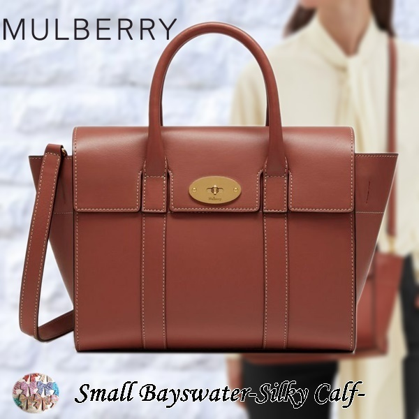 Mulberry☆Small Bayswater-Silky Calf- シルキーカーフレザー