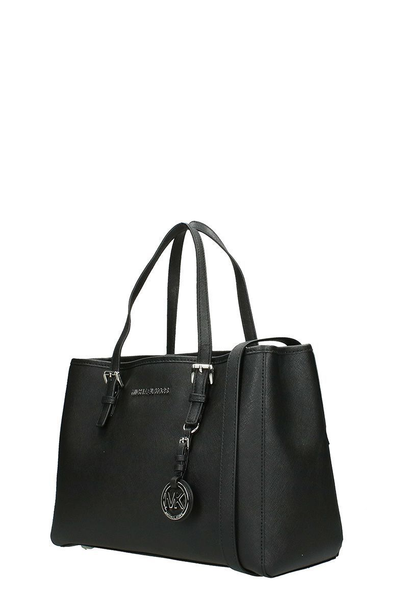 送料込 Michael Kors Jet Set Travel Saffiano Leather M バッグ