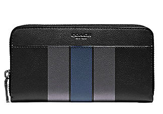 ☆COACH☆VERSITY☆LEATHER ACCORDION WALLET