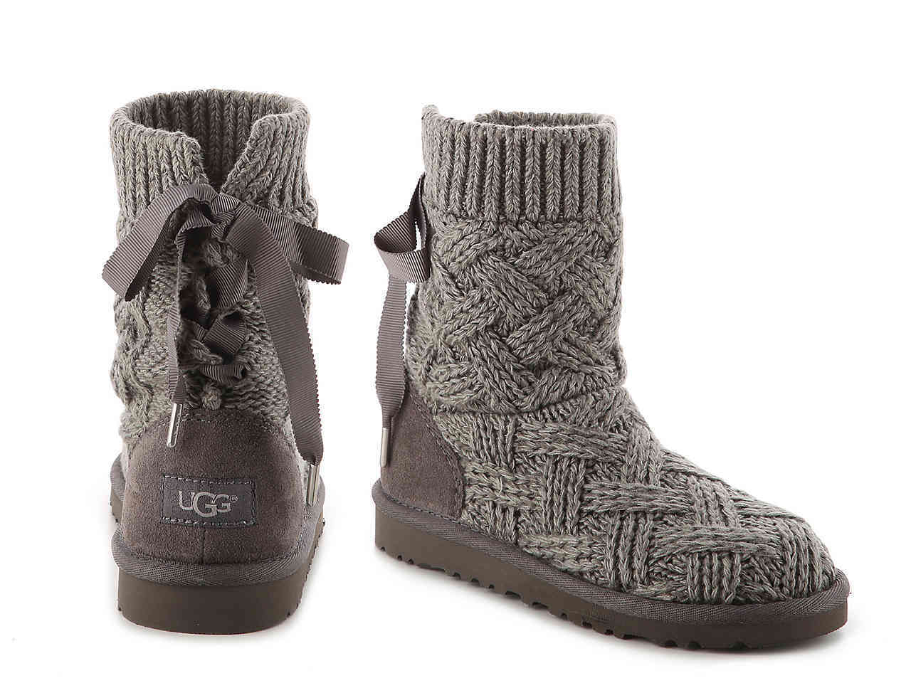 大人もOK☆UGG KIDS' LOTTIE KNIT BOOT(19.1〜24.1cm)