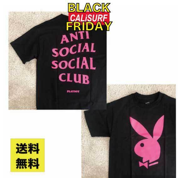 SALE★★ANTISOCIAL SOCIALCLUB x PLAY BOY TEE/Mサイズ