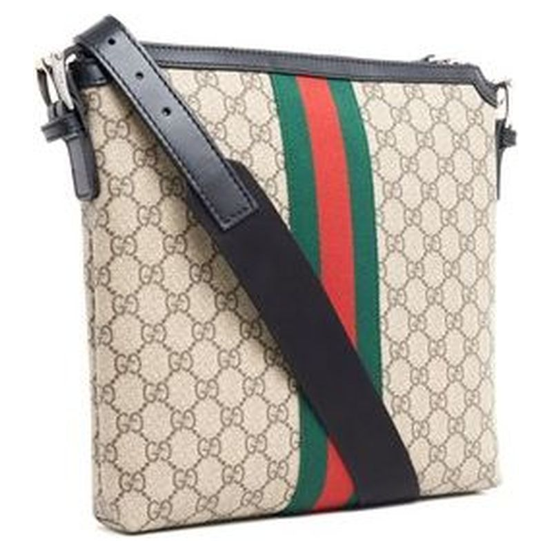 セール GUCCI 2017秋冬 GG SUPREME PRINTED CROSSBODY BAG