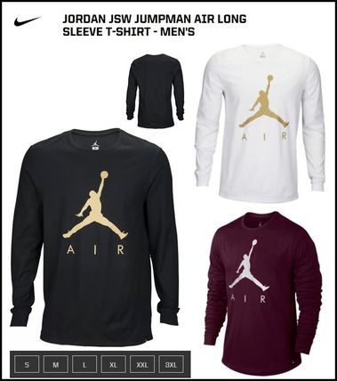 【NIKE】 Jordan JSW Jumpman Air Long Sleeve T-Shirt - Men's
