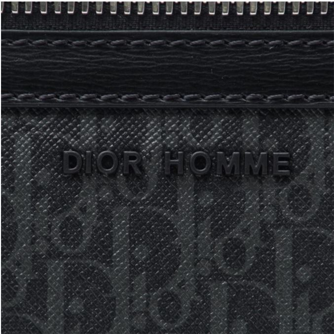 【DIOR HOMME】17SS MONOGRAM クラッチバッグ ブリーフケース