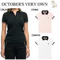 OCTOBERS VERY OWN(オクトーバーズ ベリー オウン) ポロシャツ 【Drake愛用】17FW新作☆OVO☆WOMEN'S OWL PATCH POLO