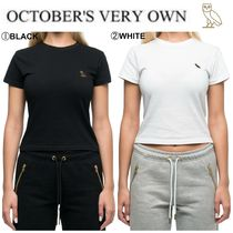 OCTOBERS VERY OWN(オクトーバーズ ベリー オウン) Tシャツ・カットソー 【Drake愛用】17FW新作☆OVO☆WOMEN'S OWL PATCH T-SHIRT
