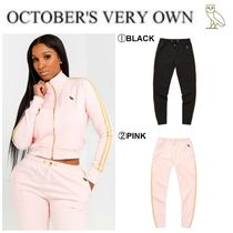 OCTOBERS VERY OWN(オクトーバーズ ベリー オウン) パンツ 【Drake愛用】17FW新作☆OVO☆WOMEN'S OWL PATCH TRACK PANT