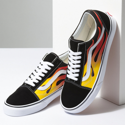 【VANS】Old Skool - (Flame) 22~24cm