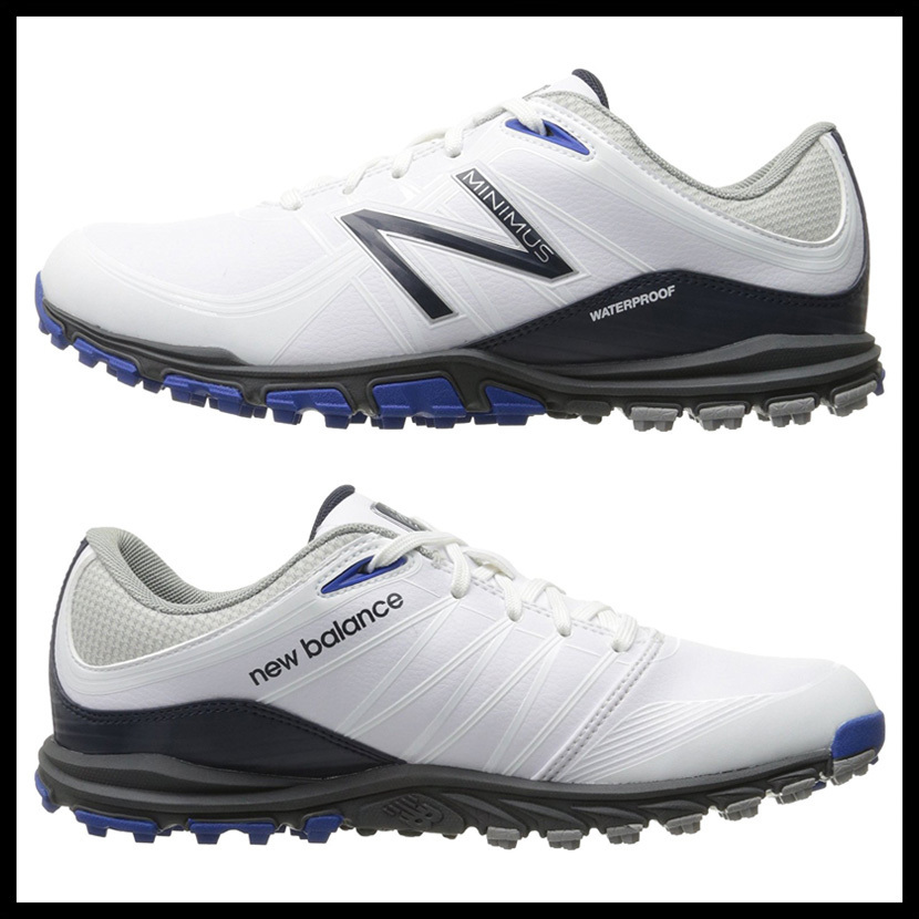 即納★NEW BALANCE NBG1005 MINIMUS GOLF★NBG1005 WHITE/BLUE