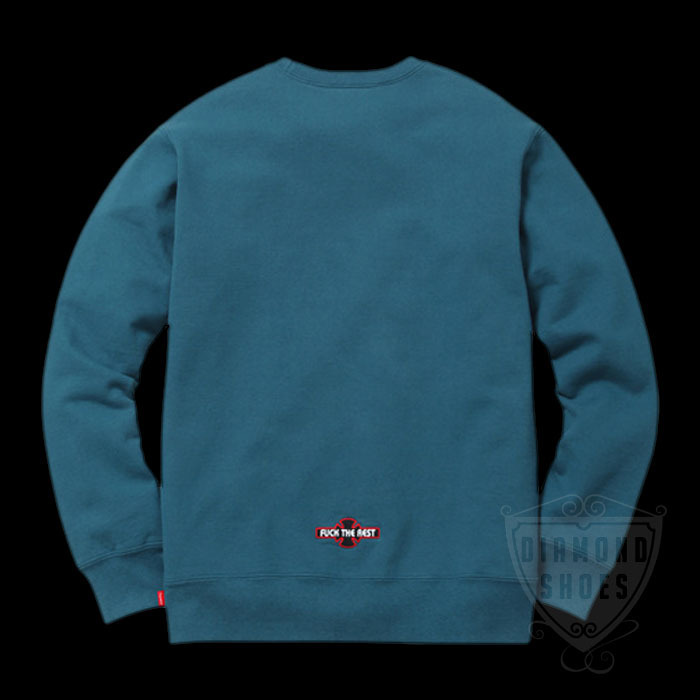 FW17 SUPREME INDEPENDENT FUCK THE REST CREWNECK 送料無料