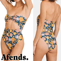 AFENDS(アフェンズ) ワンピース水着 AFENDS【アフェンズ】Coris 花柄ワンピース水着