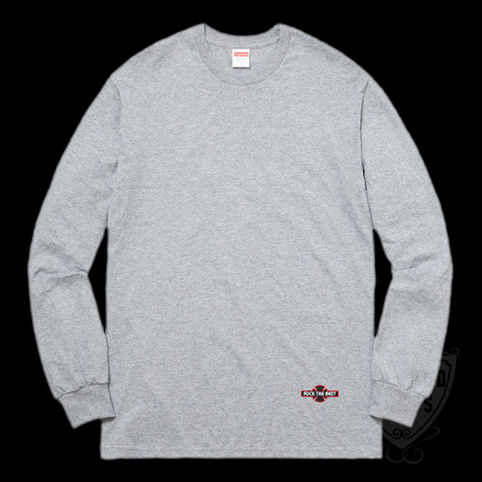 FW17 SUPREME INDEPENDENT FUCK THE REST L/S TEE S-XL 送料無料