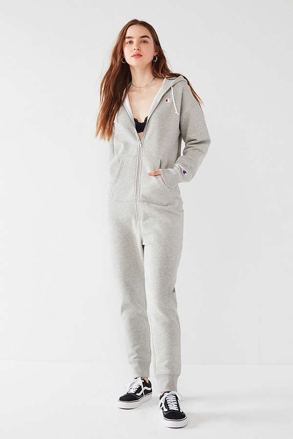 Champion & UO Sweatshirt Jumpsuit