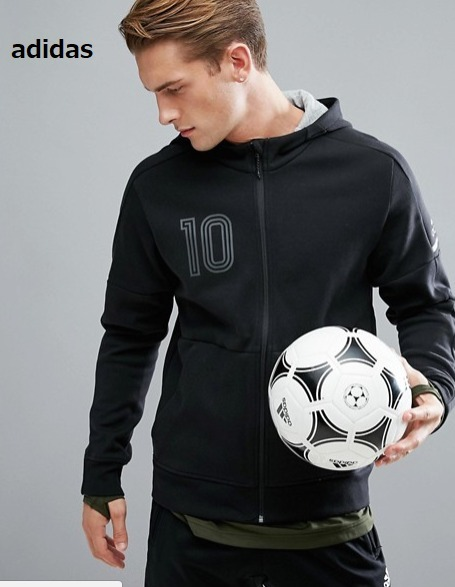 2017A/W adidas サッカーパーカー【関税込・送料無料】