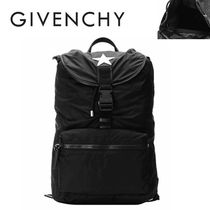 GIVENCHY正規品/超特急EMS送料込み スターアップリケ Backpack
