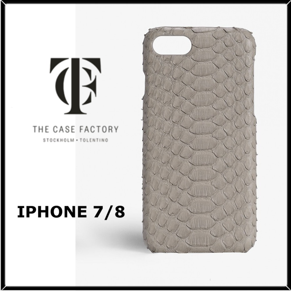 ★THE CASE FACTORY★IPHONE 7/8パイソンスキンケース♪関税込