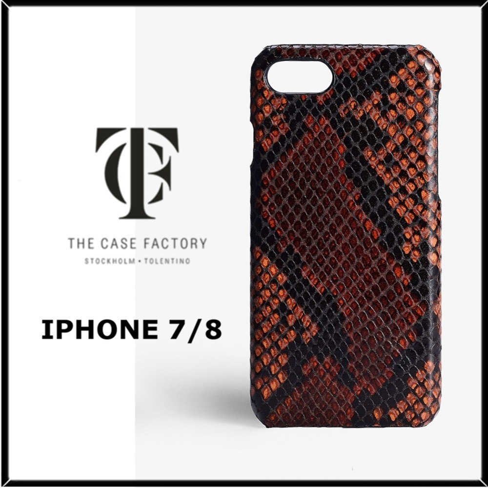★THE CASE FACTORY★IPHONE 7/8イタリアンレザーケース♪関税込