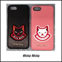 【関税・送料込】◇miumiu◇iPhone case◇MADRAS POP