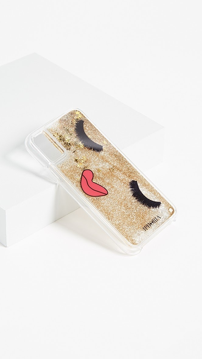 【国内発送,追跡,関税込】IPHORIA liquid glitter iPhone X Case