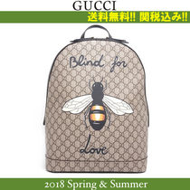 2018SS,関税込★GUCCI(グッチ)'BLIND FOR LOVE' BEE 蜂 BACKPACK