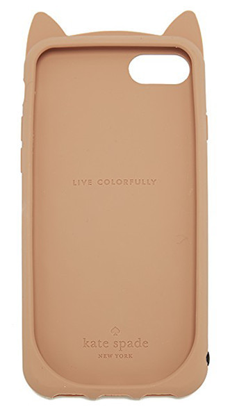 Kate Spade ◆ Silicone チーターキャット iPhone7 case