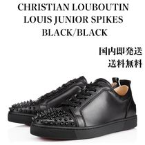 【即発】【国内発送】★ LOUIS JUNIOR SPIKES ★ 2017AW BLACK