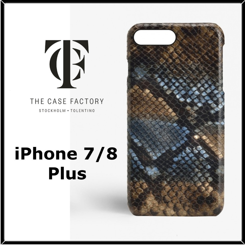 ★THE CASE FACTORY★iPhone 7/8plusレザーケース♪関税込