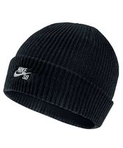 NIKE SB 628684-011 FISHERMAN BEANIE MINERAL BLACK×WHITE