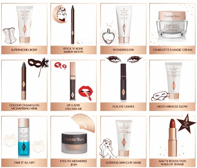 限定 Charlotte Tilbury NAUGHTY & NICE MAGIC BOX 12アイテム