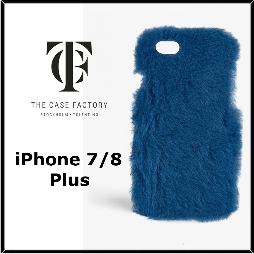 ★THE CASE FACTORY★iPhone 7/8plusファーケース♪関税込