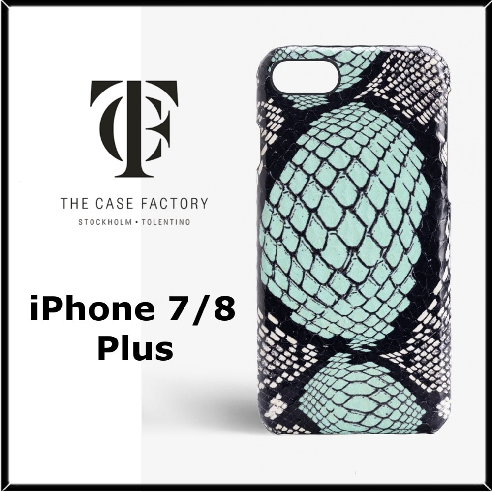 ★THE CASE FACTORY★iPhone 7/8plusヘビ革ケース♪関税込