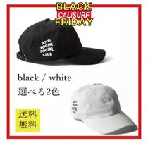 SALE★★ANTISOCIAL SOCIALCLUB CAP/ black or white