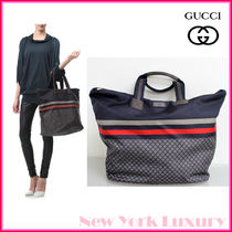 GUCCI★グッチ★素敵!Blue Unisex Diamante Tote Travel BAG