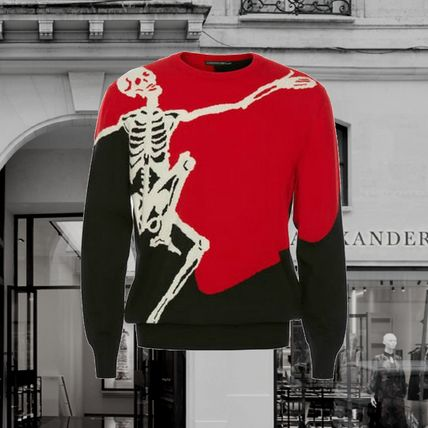 *Alexander McQueen*Dancing Skeleton Sweater MULTICOLOR