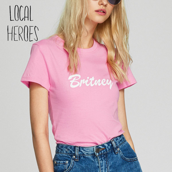 Local Heroes☆Tシャツ BRITNEY ブリトニー ピンク