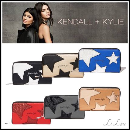 Charming Charlie限定コラボKendall+Kylie★スター星柄長財布