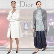 ◆◆VIP◆◆   Dior   DOUBLE-BREASTED  ウール  コート