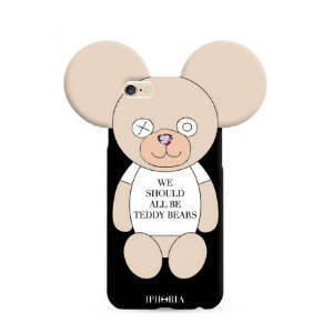 IPHORIA★iPhone 7/8ケース★We should all be Teddy Bears