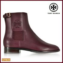 ★Tory Burch★ Wyatt Maroon Leather ブーツ 関税込