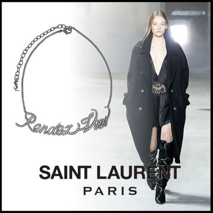 "送料関税込☆SAINT LAURENT ""RENDEZ-VOUS"" CHAIN CHOKER"
