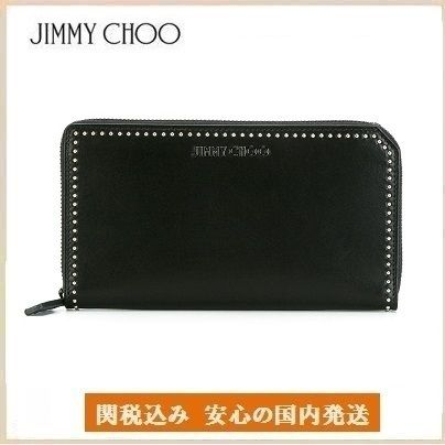 17AW 送関込   Jimmy Choo  Carnaby travel wallet