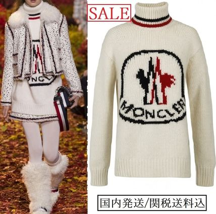Moncler Gamme Rouge ◇ カシミア ロゴタートルネックセーター