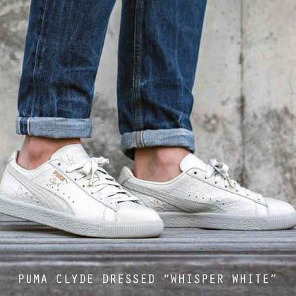Puma Clyde Dressed スネーク エンボス 特価