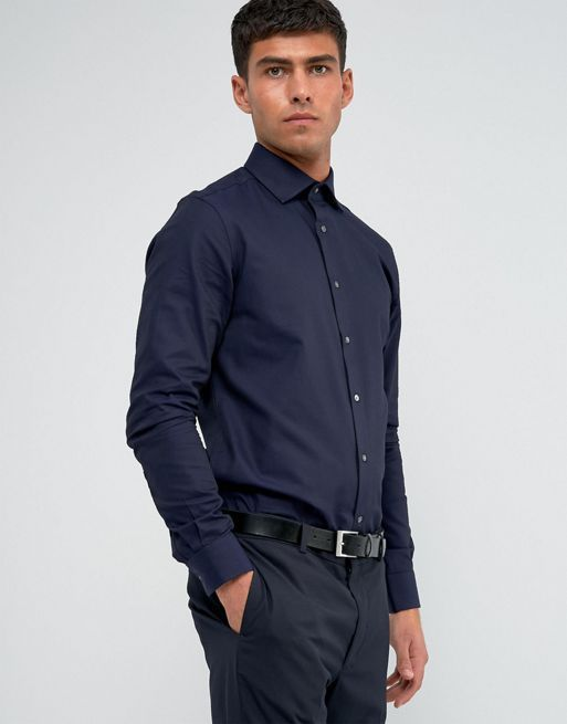 王室愛用♪Reiss Regular Smart Shirt with Cutaway Coll リース