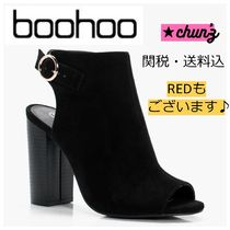 関送込 Paige Peeptoe Sling Back Shoe Boot ブーツ