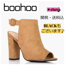 関送込 Rebecca Wide Fit Peeptoe Shoe Boot ブーツ