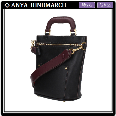 【ANYA HINDMARCH】ORSETT MINI バッグ BLACK 関税・送料込